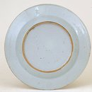 19C Chinese Export Blue & White Plate Flower