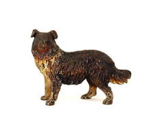 Austrian Vienna Bronze Large Dog Figurine