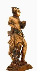 19C Chinese Export Soapstone  Grecian Figurine