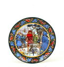 King Arthur Sword Stone Series Wedgwood Plate