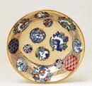 6 Japanese Fukagawa Koransha Imari Bowl & Plate