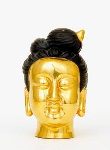 Japanese Kutani Imari Buddha Quan Yin Head Mk