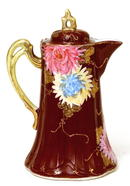 Old Japanese Nippon Kutani Teapot Chocolate Pot