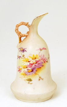 Antique Royal Worcester Style Pitcher Ewer
