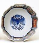 Old Japanese Imari Bowl w Phoenix Mk
