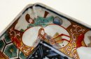 Old Japanese Imari Geisha Samurai Plate
