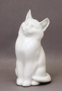 Vintage Royal Copenhagen Cat & Figurine