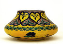 Old Japanese Yellow Crane Kutani Imari Bowl Sg