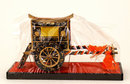 Old Japanese Hina Doll Furniture Carriage