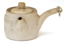 Old Japanese Banko Ware Teapot Sg