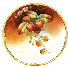 Old Pickard Limoges Berry Plate