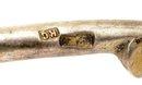 Russian Enamel Cloisonne Silver  Faberge Spoon Mk
