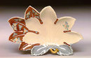 Japanese Imari Kutani Double Maple Leaf Shape