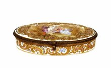 Old RS Prussia Meissen Gilt Box