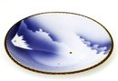 19C Japanese Blue & White Imari Mt. Fuji Plate