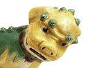 Old Chinese Export Sancai Mudman Fu Foo Dog Lion