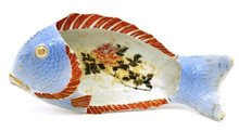 Old Japanese Imari Fish Plate