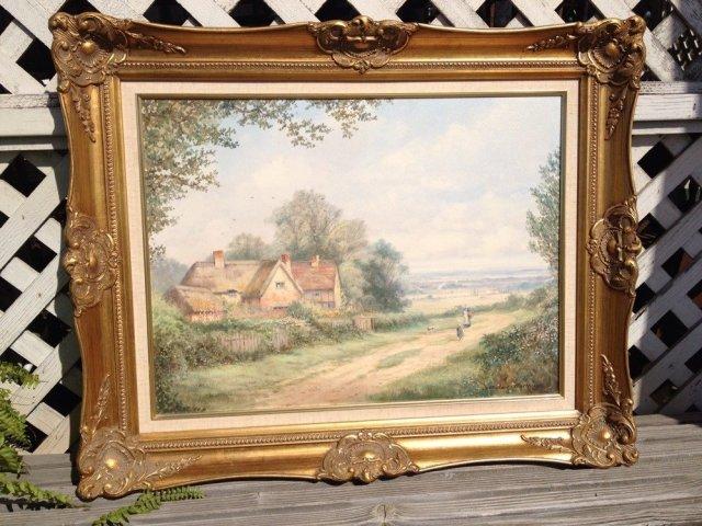 Michael Matthews Derwent Water Cumberland England Landscape Painting