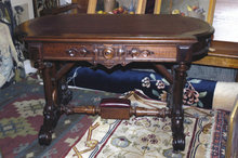 Walnut Desk Or Table 1864 Estate Of James Flood Lindenwood Mansion