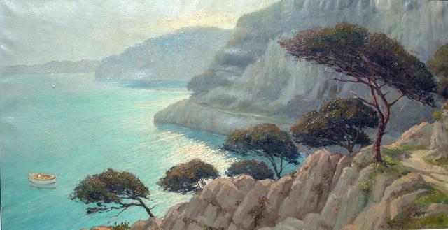 Vue Cap de Antibe  Mery