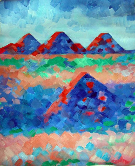 Erle Loran Oregon Painted Desert