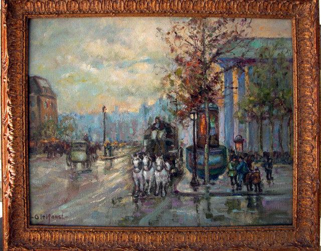 Helen Gleiforst  Place de la Madeleine