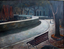 Washington Square Park 1957 Tseng