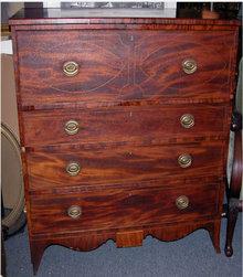 Hepplewhite Butlers Dresser/Desk