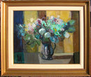 Constantine Cherkas Flowers in Blue