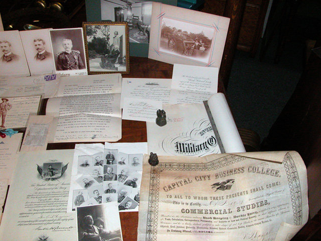 Eli lundy Huggins Civil Indian Spanish American Wars