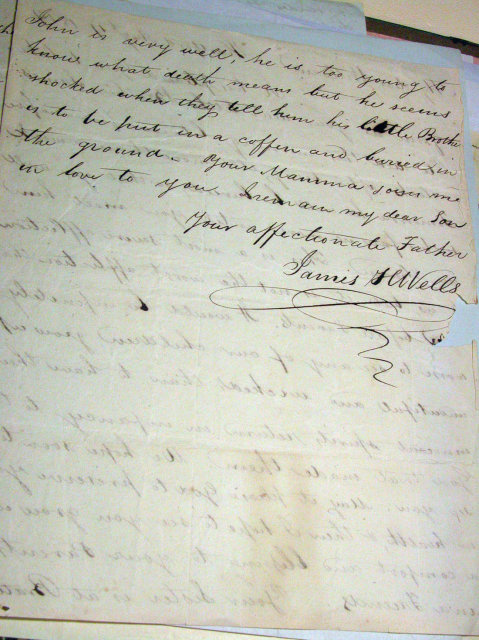 Hartford Connecticut Historical letters 1805-1880
