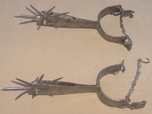 Rare Polish/Hungarian Hussar Tournament Spurs, 16th C