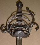 Fine Italian 4-ring Rapier, ca. 1620