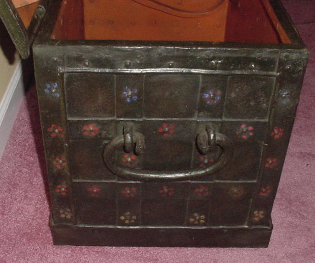 German Nurnberg Chest, 17th C