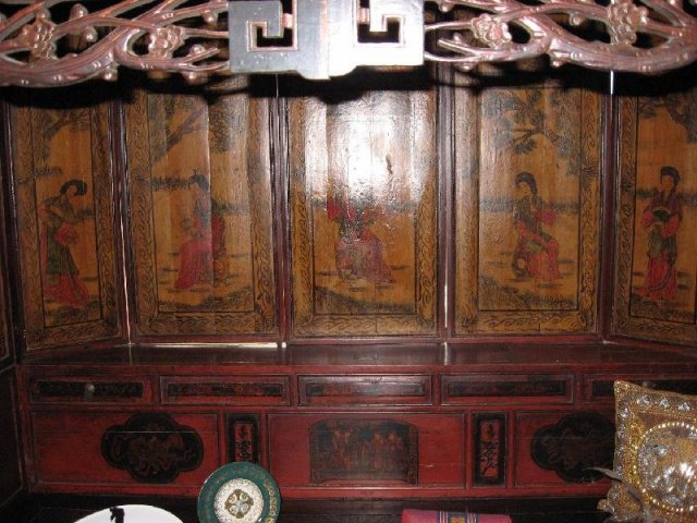 Magnificent Chinese Wedding Bed, 3rd Quarter 19th C