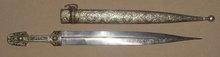 Caucassian Kindjal Dagger, Late 19th C