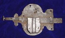 German 17th Century Door Lock
