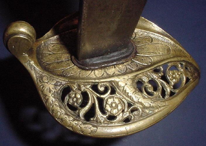 Confederate Foot Officer's Sword, Likely by Leech & Rigdon