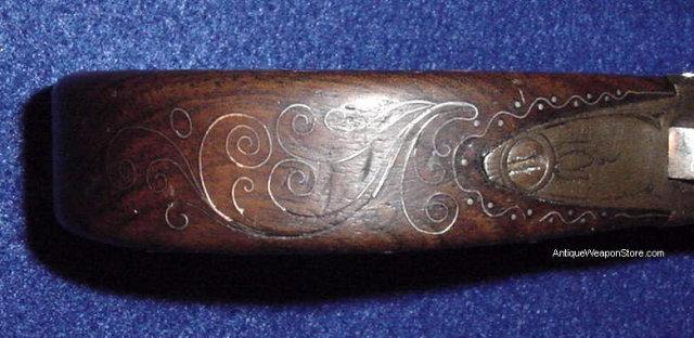 English Flintlock Boxlock Pistol, ca. 1810