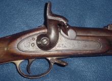 Bullet Struck Enfield P1853 Musket From Antietam