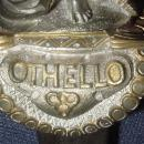 Superb Exhibition Grade Silver and Gilt Dagger Commemorating Othello, 19th C