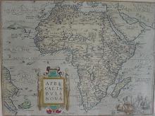 Map: Africae Tabula Nova, by Abraham Ortelius, 1570