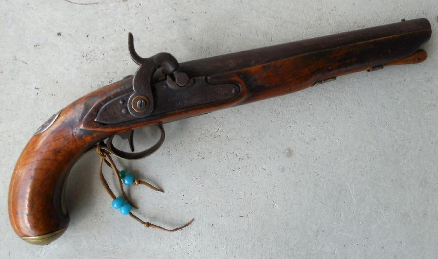 Rare Chief's Grade Medallion Pistol by Ketland, Early 19th C