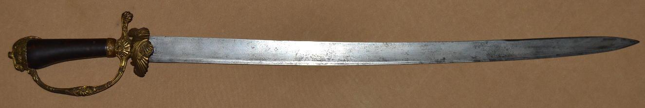 German Hunting Sword, 18th C
