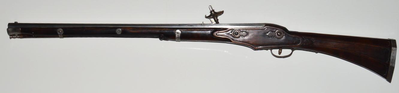 Italian (Brescian) Wheellock Rifle, Mid-17th C