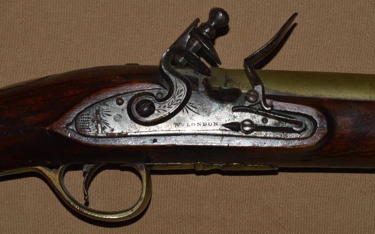 English Brass-Barreled Flintlock Blunderbuss, ca. 1825