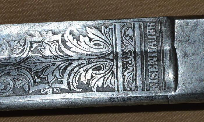 Inscribed Imperial German Officer's Sword, Sabre