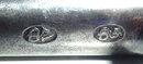 English Silver Inlaid Flintlock Pistol, ca, 1775