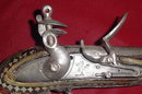 Afghan Flintlock Jezail (Musket), Lock Dated 1816