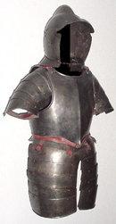 Nurnberg Pikeman's Half Armor, Solothurn Zeughaus, ca. 1580